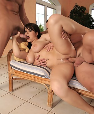 Big Tits MMF Porn Pictures