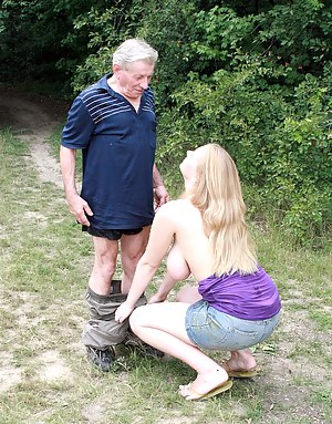 Old Man and Young Big Tits Porn Pictures